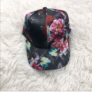 Free Press Satin Floral Hat